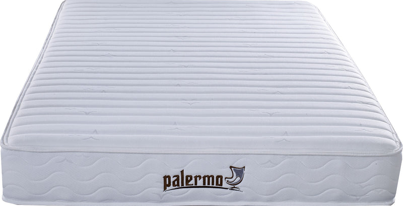 Palermo Contour 20cm Encased Coil Double Mattress CertiPUR-US Certified Foam