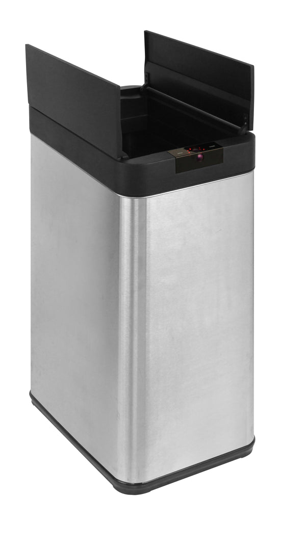 48L Automatic Sensor Rubbish Stainless Steel Bin Fingerprint Proof
