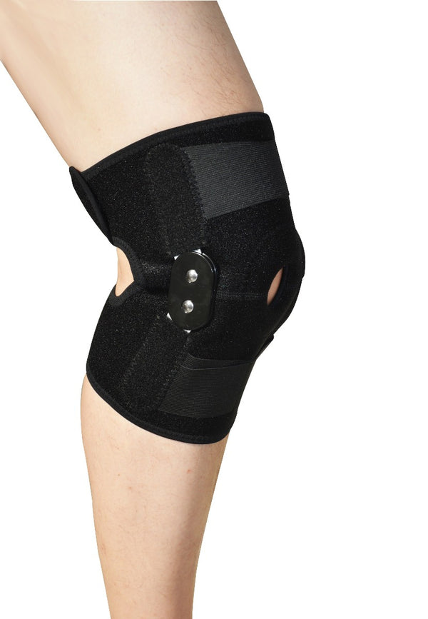 Hinged Full Knee Support Brace Protection Arthritis Injury Sports