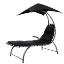 Gardeon Outdoor Sun Lounge Canopy Day Bed Sofa Garden Patio Furniture Cushion