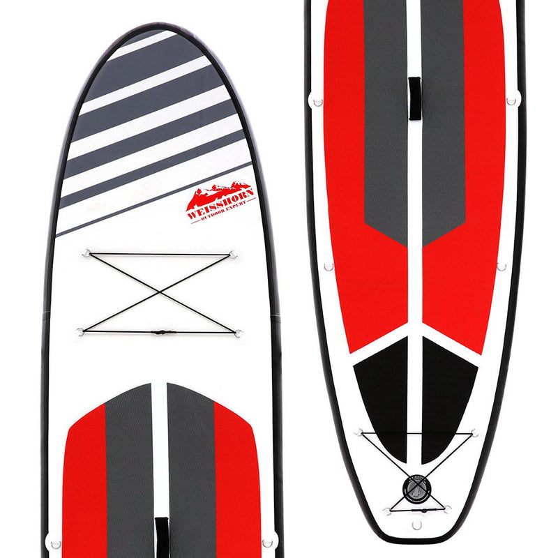 Weisshorn Stand Up Paddle Boards 11' Inflatable SUP Surfboard Paddleboard Kayak Red