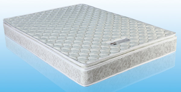 Palermo Double Luxury Latex Pillow Top Topper Spring Mattress