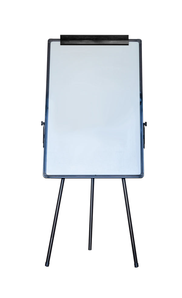 60 x 90cm Magnetic Writing Whiteboard Dry Erase w/ Height Adjustable Tripod Stand