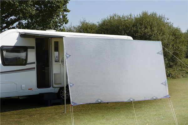 3.7m Caravan Privacy Screen Side Sunscreen Sun Shade for 13' Roll Out Awning