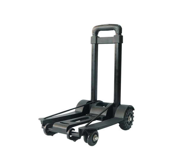 Portable Cart Folding Dolly Push Truck Hand Collapsible Trolley Luggage 75Kg