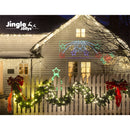 Jingle Jollys Christmas Motif Lights LED Star Fall Light Waterproof Outdoor Xmas