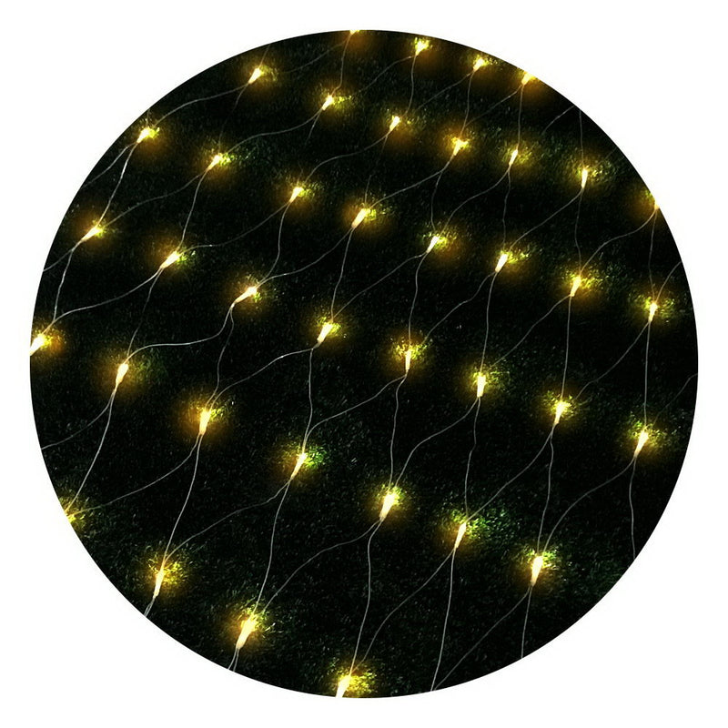 Jingle Jollys 4mx6m Christmas Net Mesh Lights 1000LED String Fairy Party Wedding
