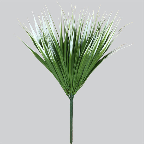 White Tipped Grass Stem UV Resistant 35cm