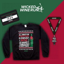 Load image into Gallery viewer, Jingle Juice Christmas Wine Run Challenge