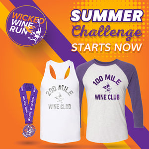 Summer Challenge Passport- BOTH 100 & 200 Mile Wine Club