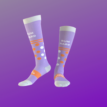 Load image into Gallery viewer, 100K Wine Runner Compression Socks