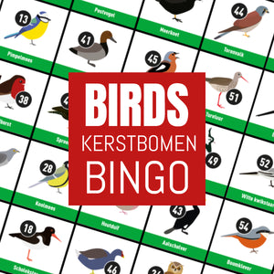 Birds Kerstbomen Bingo (18 dec)