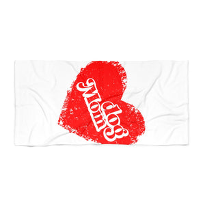 Open image in slideshow, Dog Mom Beach Towel - love dog republic