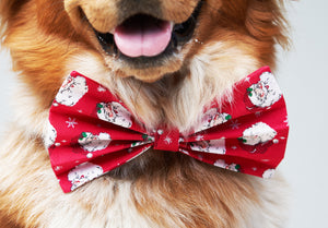 Vintage Saint Nick Bow Tie - love dog republic