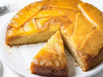 Vanilla Pineapple Upside-Down Cake
