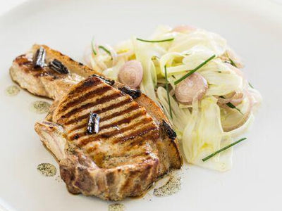 Vanilla Spiced Pork with Fennel Salad