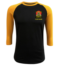 Load image into Gallery viewer, Cobras Corner Logo Raglan Tee