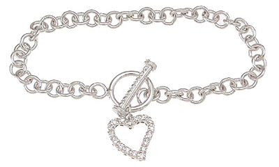 925 sterling silver rhodium finish tiffany style bracelet