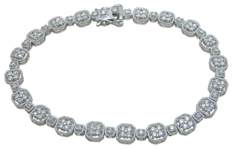 925 sterling silver anitque style bracelet