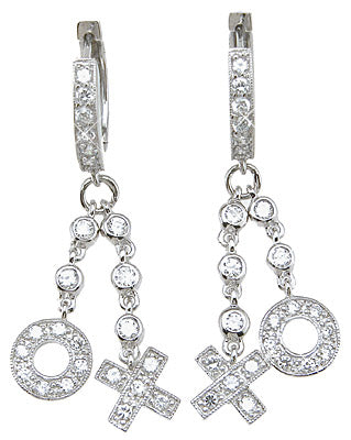 925 sterling silver fashion earrings 1 2 ct