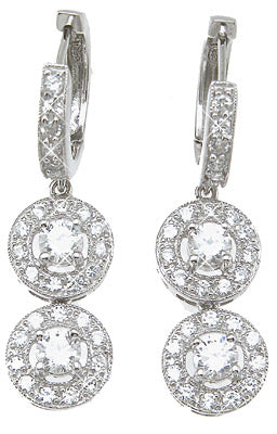 925 sterling silver fashion earrings 1 5 ct