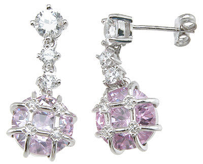 925 sterling silver fashion earrings 4 5 ct