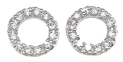 925 sterling silver fashion earrings 0 2 ct