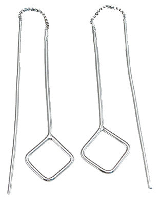 925 sterling silver fashion dangling earrings