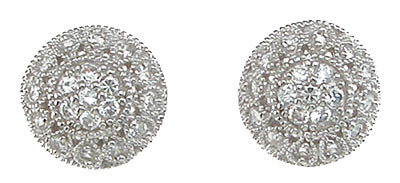 925 sterling silver antique style earrings 0 4 ct