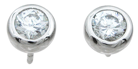 925 sterling silver stud earrings 1 5 ct