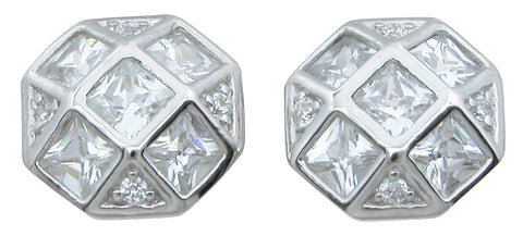 925 sterling silver stud earrings 2 15 ct