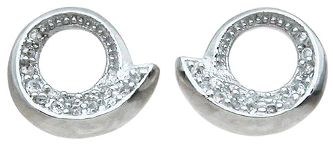 925 sterling silver fashion earrings 0 4 ct