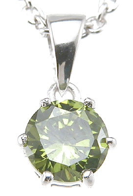 925 sterling silver rhodium finish brilliant prong pendant 1 ct