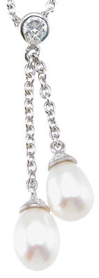 925 sterling silver rhodium finish pear shape fashion bezel pendant