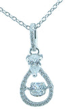 925 sterling silver antique style pendant 1 3 4 ct