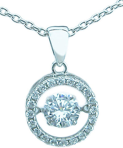 925 sterling silver antique style pendant 1 5 ct