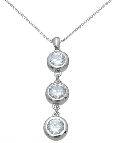 925 sterling silver fashion pendant 3 8 ct