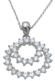 925 sterling silver fashion pendant 3 5 ct