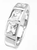 925 sterling silver platinum finish fashion band giovani