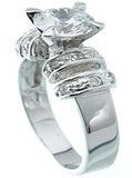 925 sterling silver platinum finish brilliant solitaire engagement ring bertini