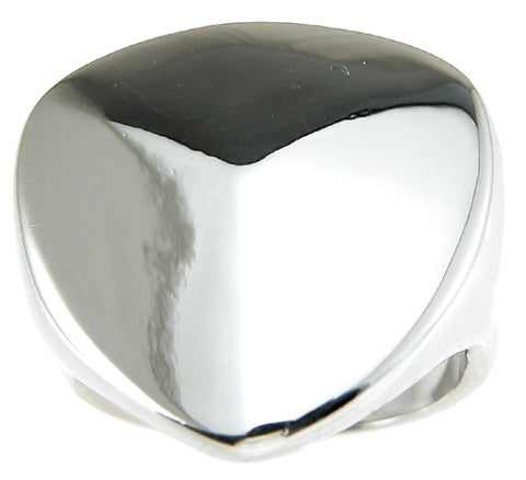 925 sterling silver rhodium finish fashion ring