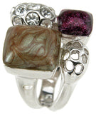 925 sterling silver rhodium finish brilliant antique style bezel anniversary ring