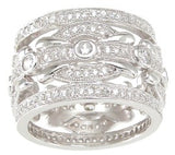 925 sterling silver wedding band antique style 1 1 2 ct