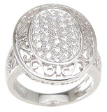 925 sterling silver antique style ring