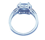 2ct double prong sterling couture 925 silver engagement ring eleonora