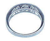 1 25ct princess 925 silver sterling couture wedding band