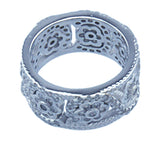 925 silver sterling couture sc flower band