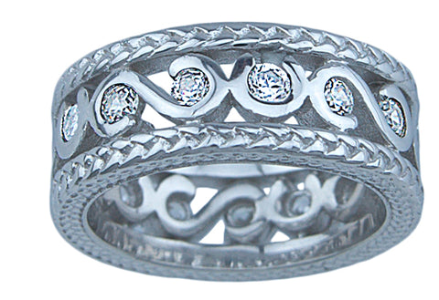 sterling couture 925 silver sc band ring adele