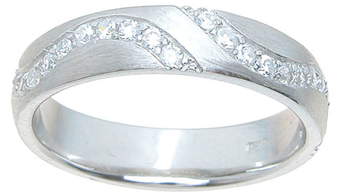 925 sterling silver wedding band wedding band 0 4 ct