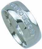 titanium wedding band 8mm 0 20ct